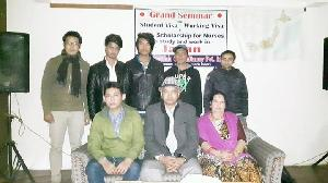 sucessfull completion of grand seminar